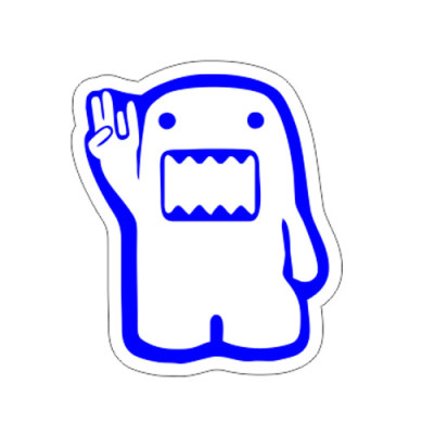 Domo Kun Shocker 8x9