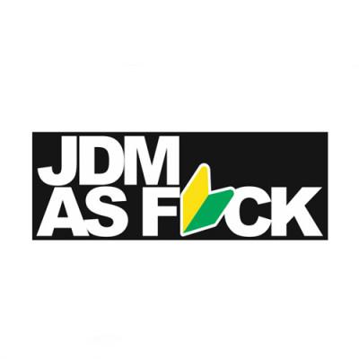 JDM as f_ck 20x7