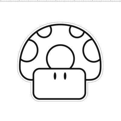 Гриб из Марио 9x9