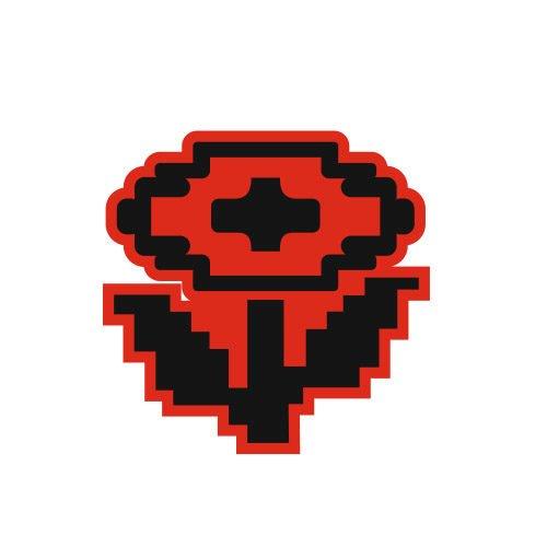 Цветок из Марио 20x20